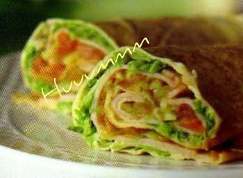 Wraps de Pão Sírio