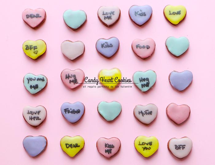 Galletas de Chocolate en forma de Corazón