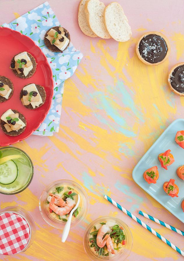 Celebrar con finger food: recetas para lograr un aperitivo increíble