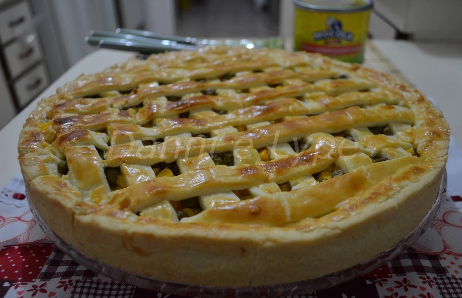 Torta de Frango com Requeijão (Massa Podre)