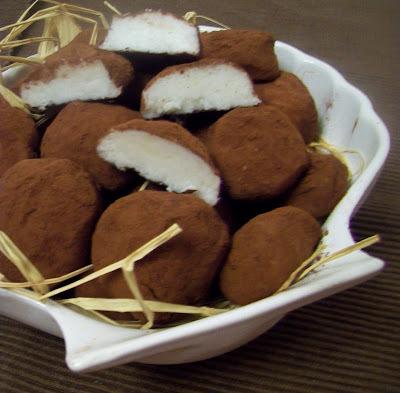 Marcipanove bonbony zo zemiakov