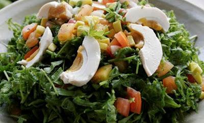 Salade de Fern (Pako Salad )