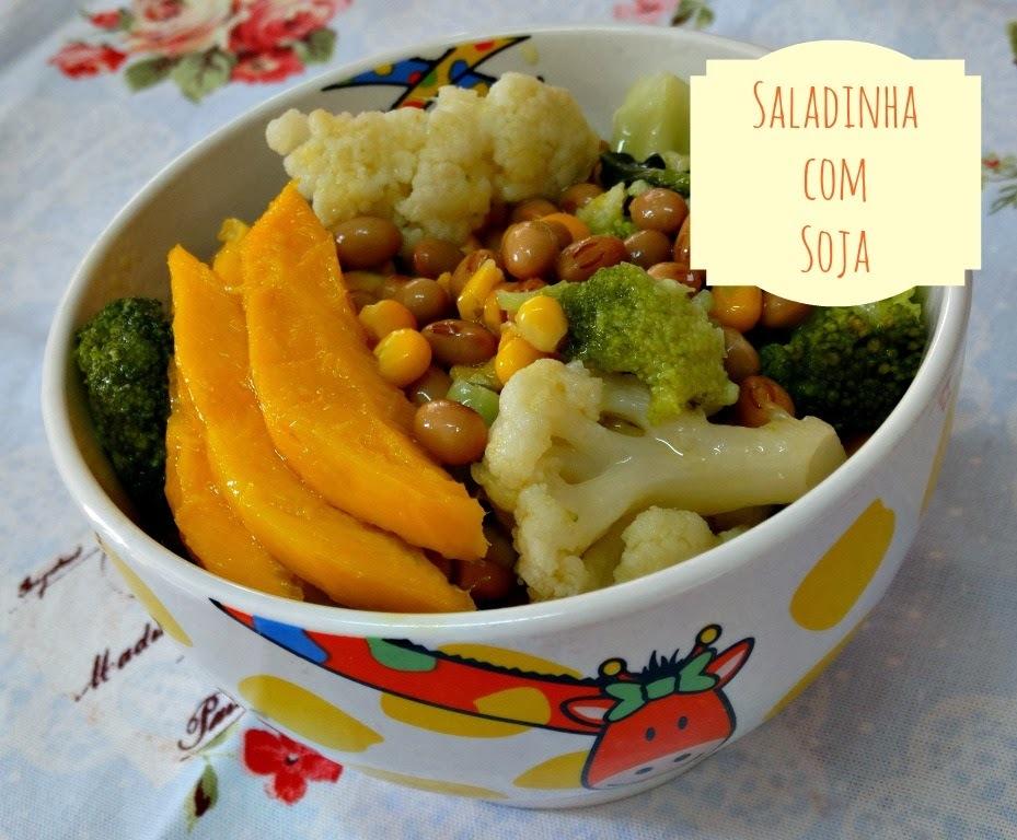 Saladinha com Soja Para o Carnaval Cair Bem!