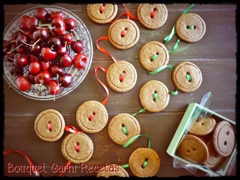 Receta de Navidad. Botones de jengibre