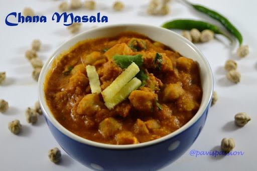 Easy Chana Masala | Chick peas Masala | Kondaikadalai Kurma without Coconut
