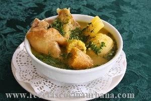 Como prepara sancocho de gallina colombiano