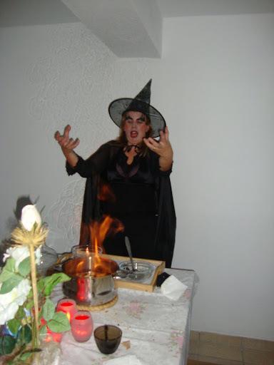Queimada do dia das Bruxas