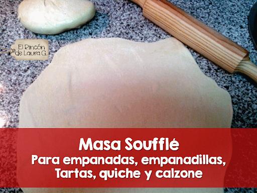 Masa Soufflé para Empanadas y Calzone