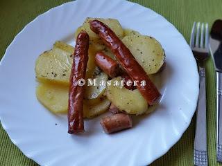 Krompirača s kobasicama