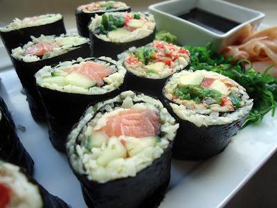 Sushi på lavkarbovis: Maki