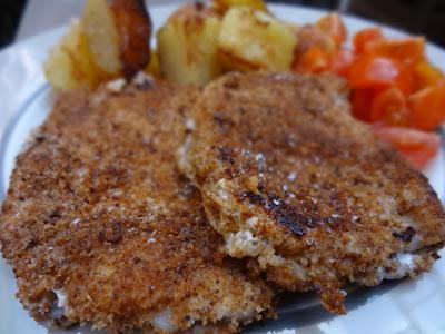 Filets de porc panés maison