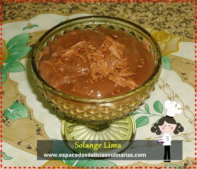 Danete caseiro de chocolate ao leite