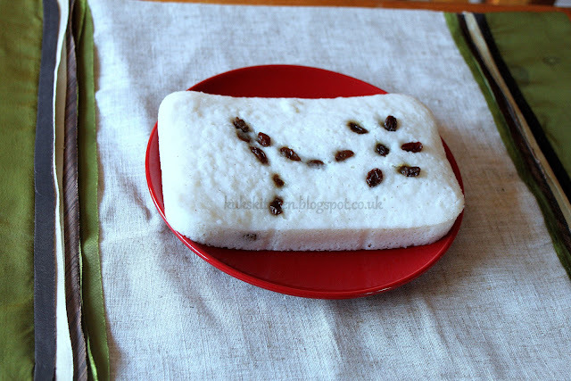 Vattayappam: Rice and coconut steamed cake - a Syrian Christian speciality  | Kukskitchen