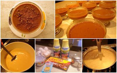 de mousse de chocolate com gelatina sem sabor gema