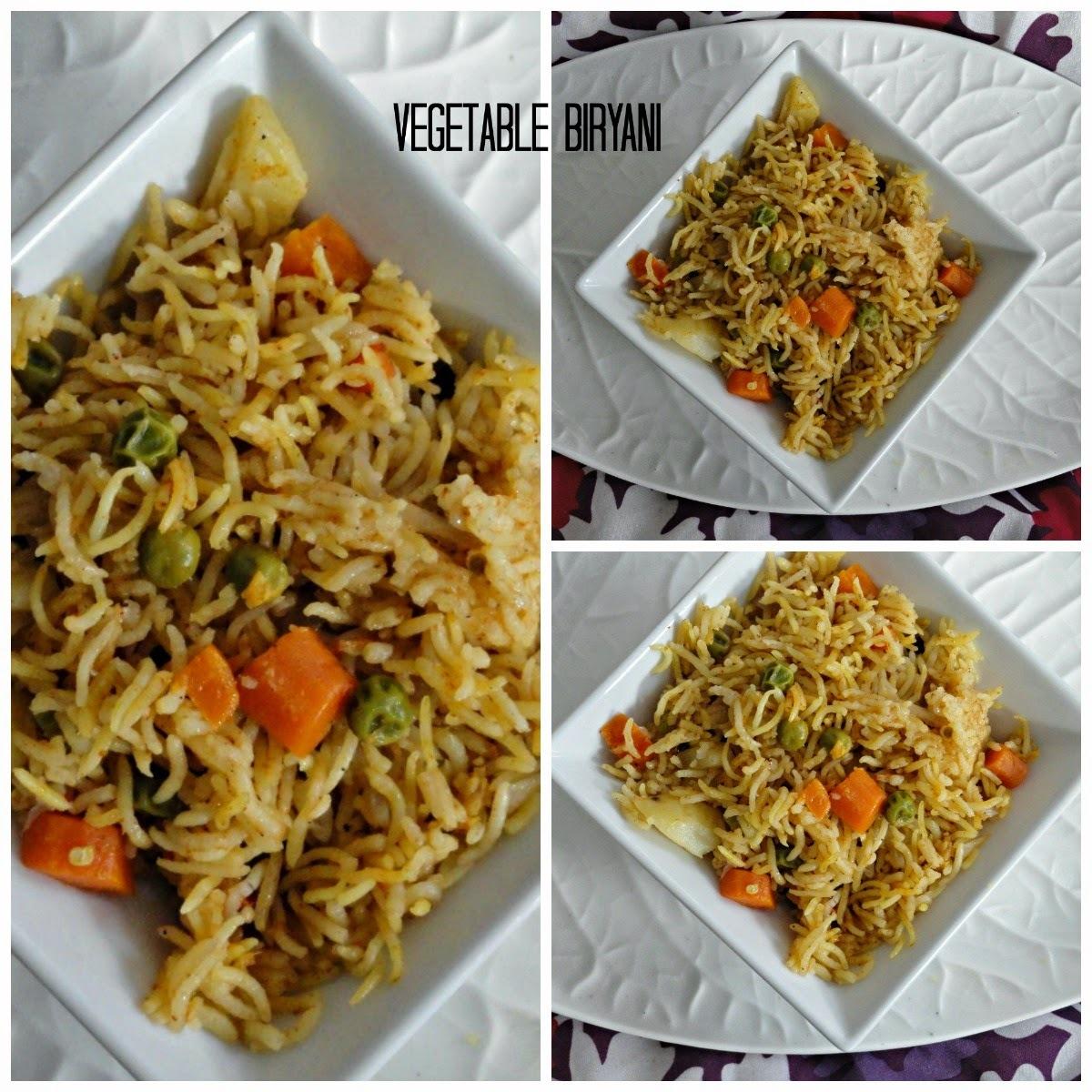 Vegetablebiriyani/PressureCookerBiriyani/Easyonepotmeal
