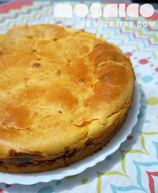 Torta de Frango com Legumes e Massa de Mandioquinha