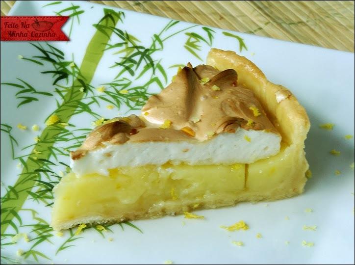 Torta de Limão Siciliano com Merengue