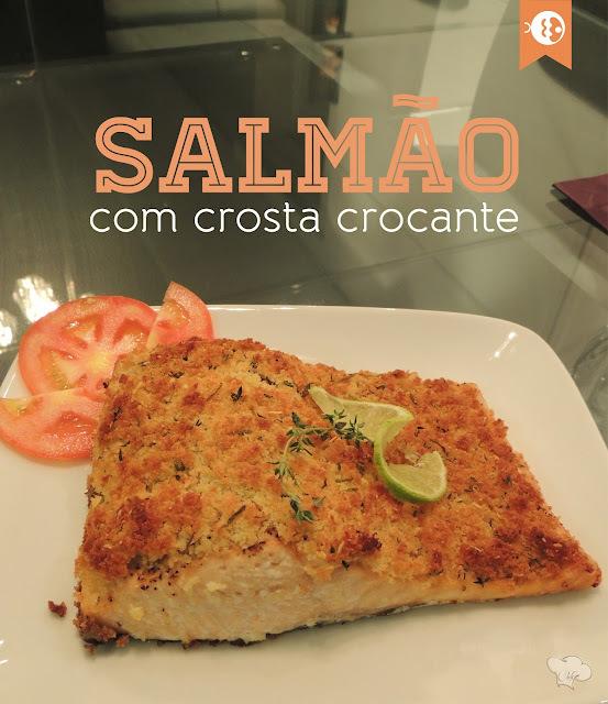de farofa para acompanhar salmão assado