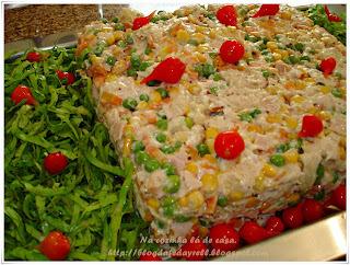 Salada Nobre com Molho Maravilha