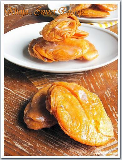 Khaja.. (Sweet Pastry)