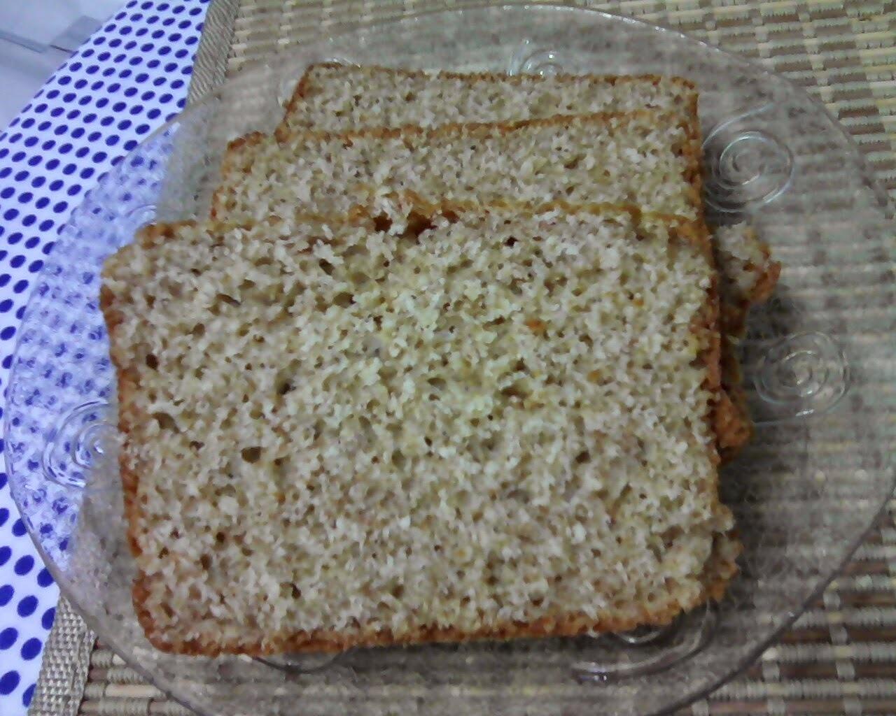 Pão integral de liquidificador (Fácil).