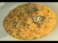 risoto de bacalhau com requeijão