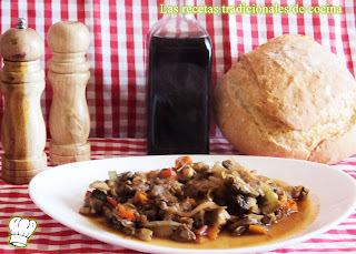Receta de ternera con salsa de verduras de temporada