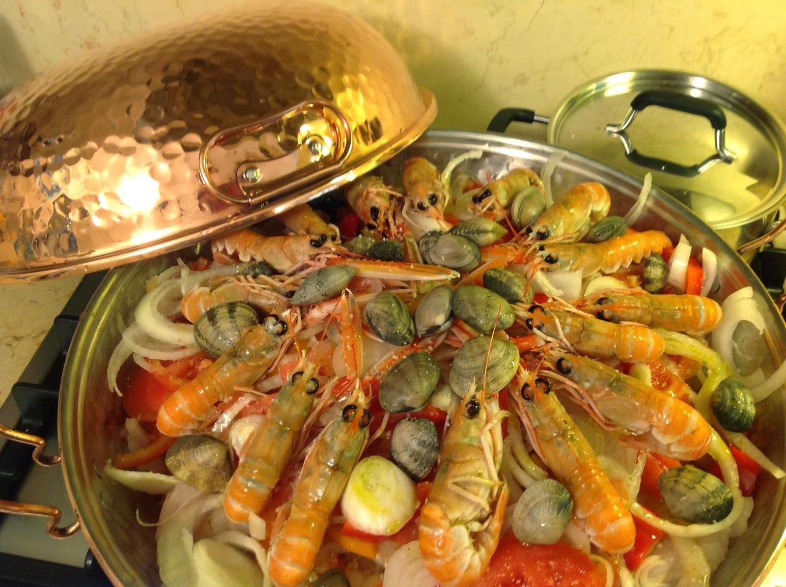 Cataplana de Frutos do Mar