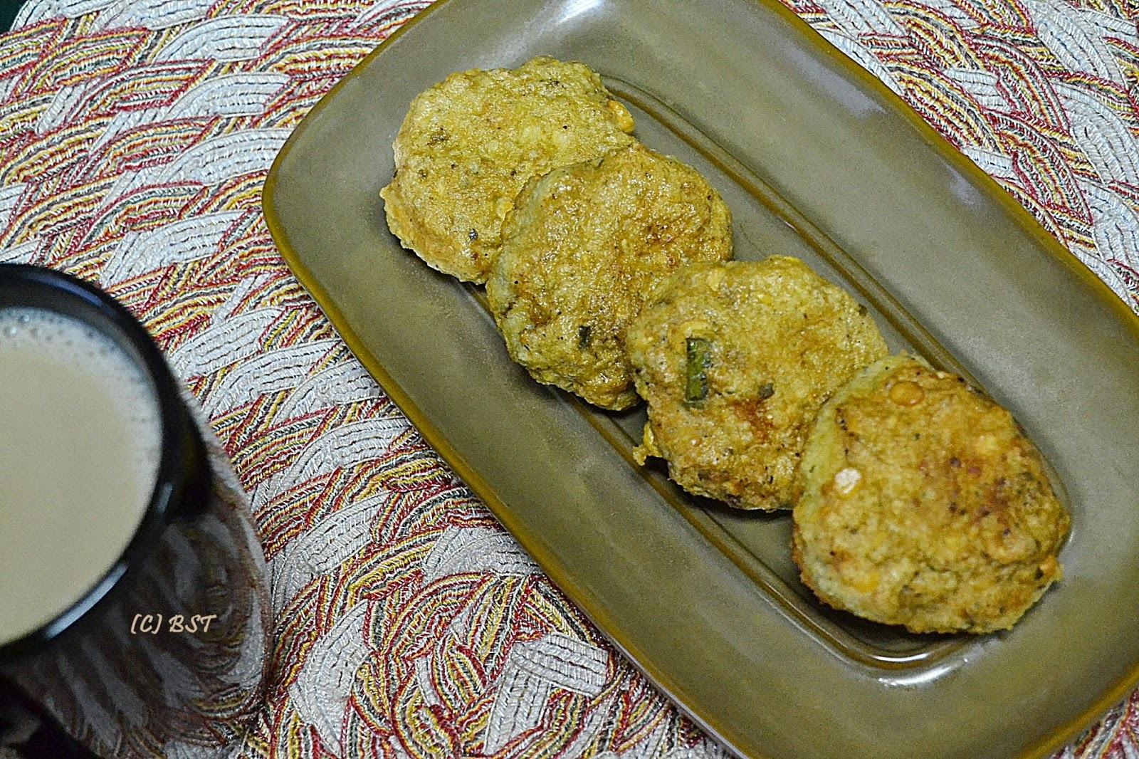 Kozhi Masala Vada/ Chicken Bengal Gram Patties