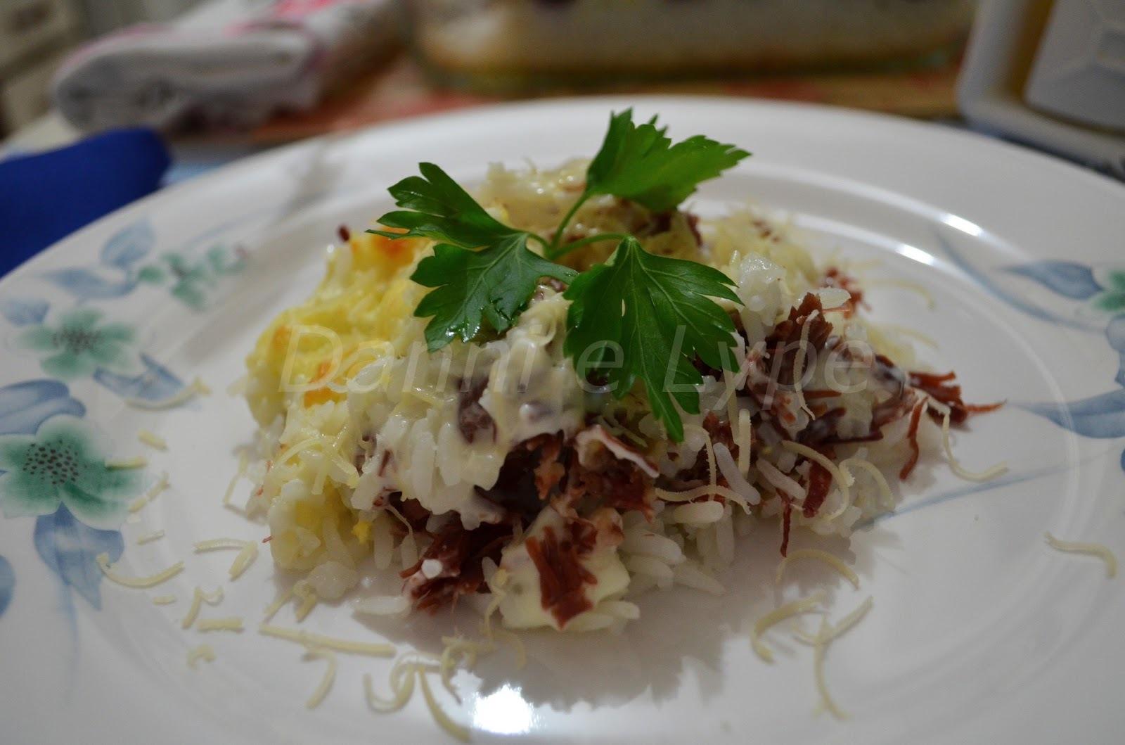 Risoto Cremoso de Carne Seca