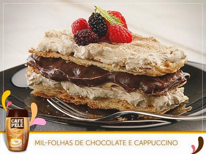 Mil Folhas de Chocolate e Cappuccino