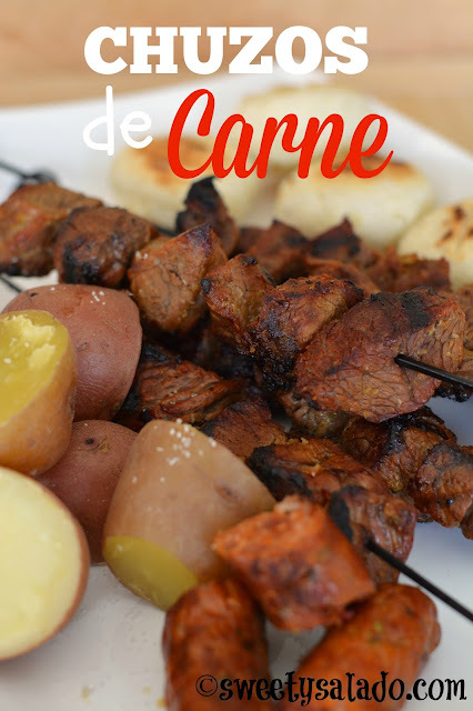 Chuzos de Carne Colombianos