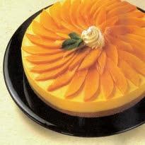 Cheesecake com Calda de Manga