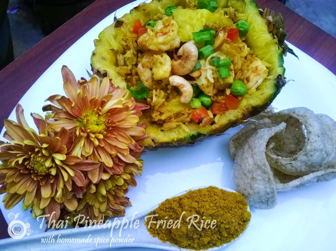 Fragrant Thai Pineapple Fried Rice