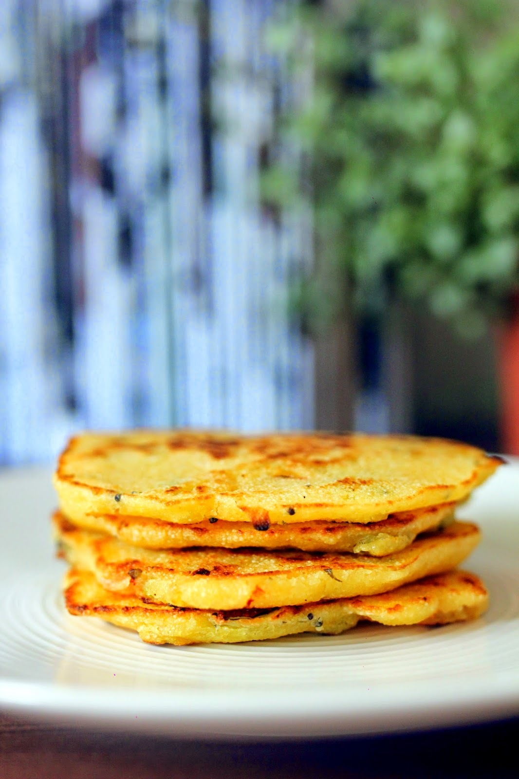 Quick fix- Indian semolina pancakes