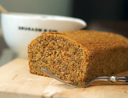 Pan de zanahoria casero y facil