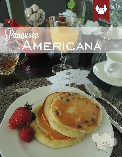 Panqueca Americana para um café da manhã com muito amor