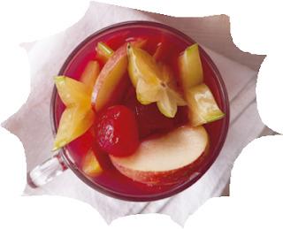 Natal Receitas: ponche de frutas sem álcool