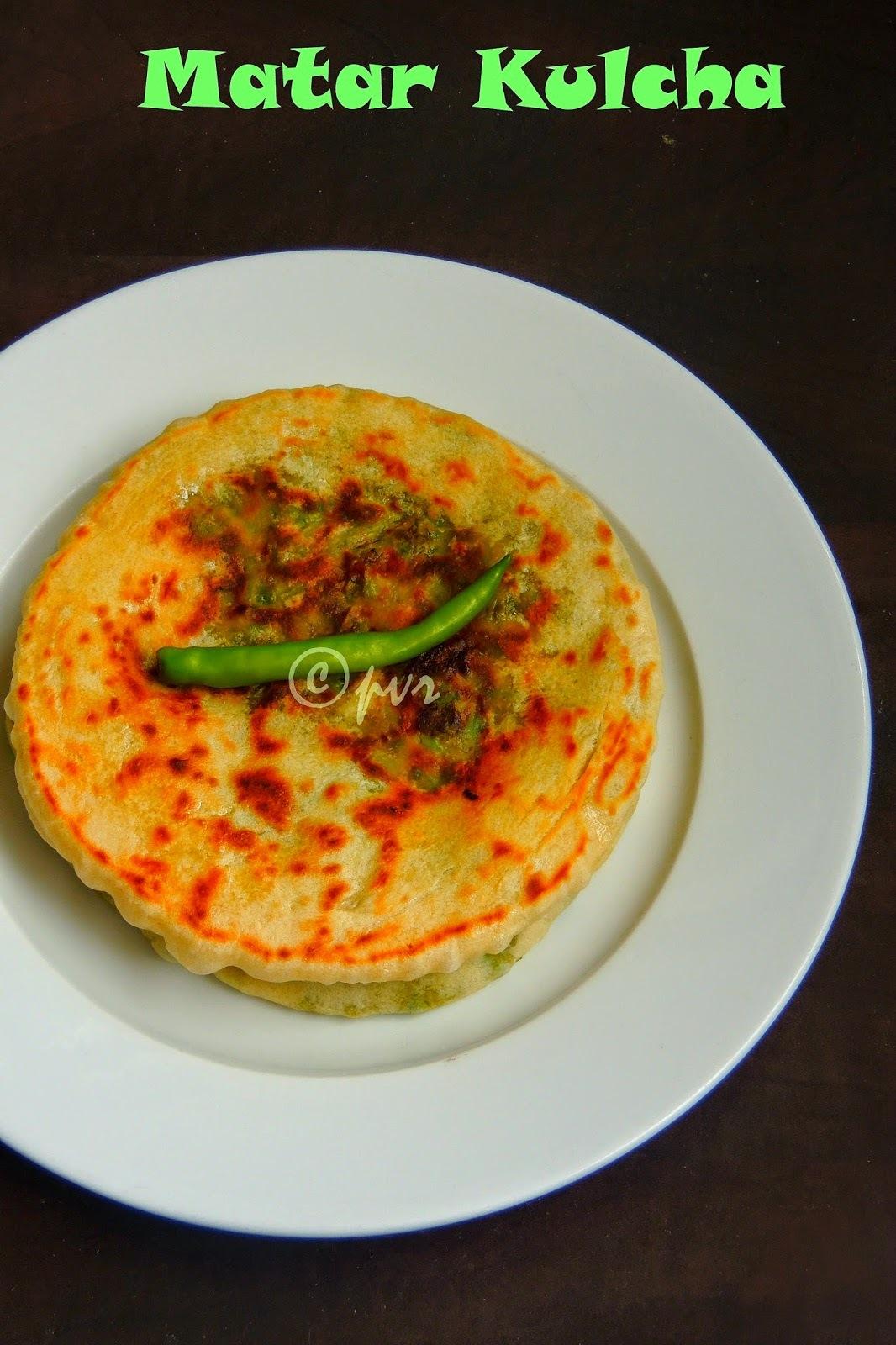 Matar Kulcha/Green Peas Kulcha