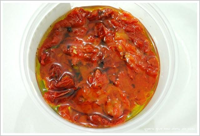 contraindicado para ansiosos: tomates secos de microondas
