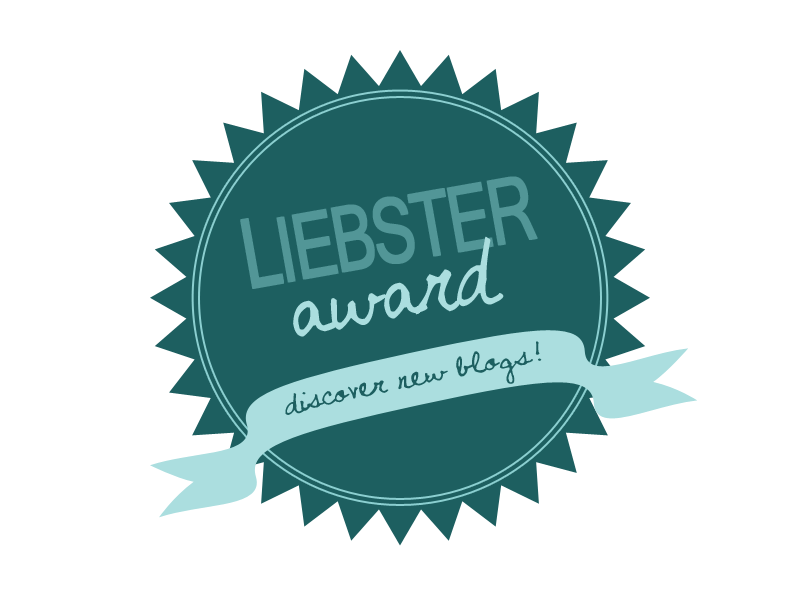 Liebster Award- My first award