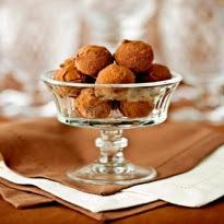 recheio de menta cafe e amendoim para trufas