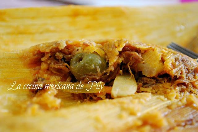 Tamales estilo Sonora de Ana