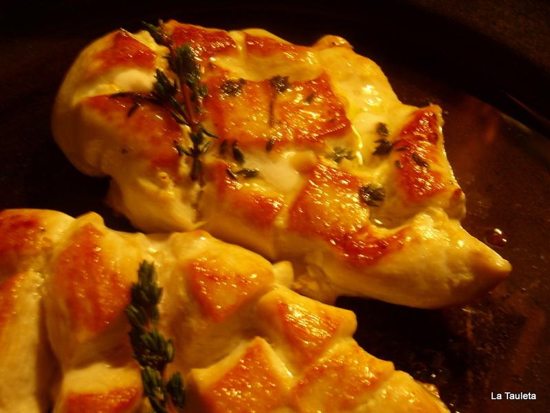 Patatas al Horno con Pechugas Asadas