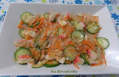 Salada com Harussame