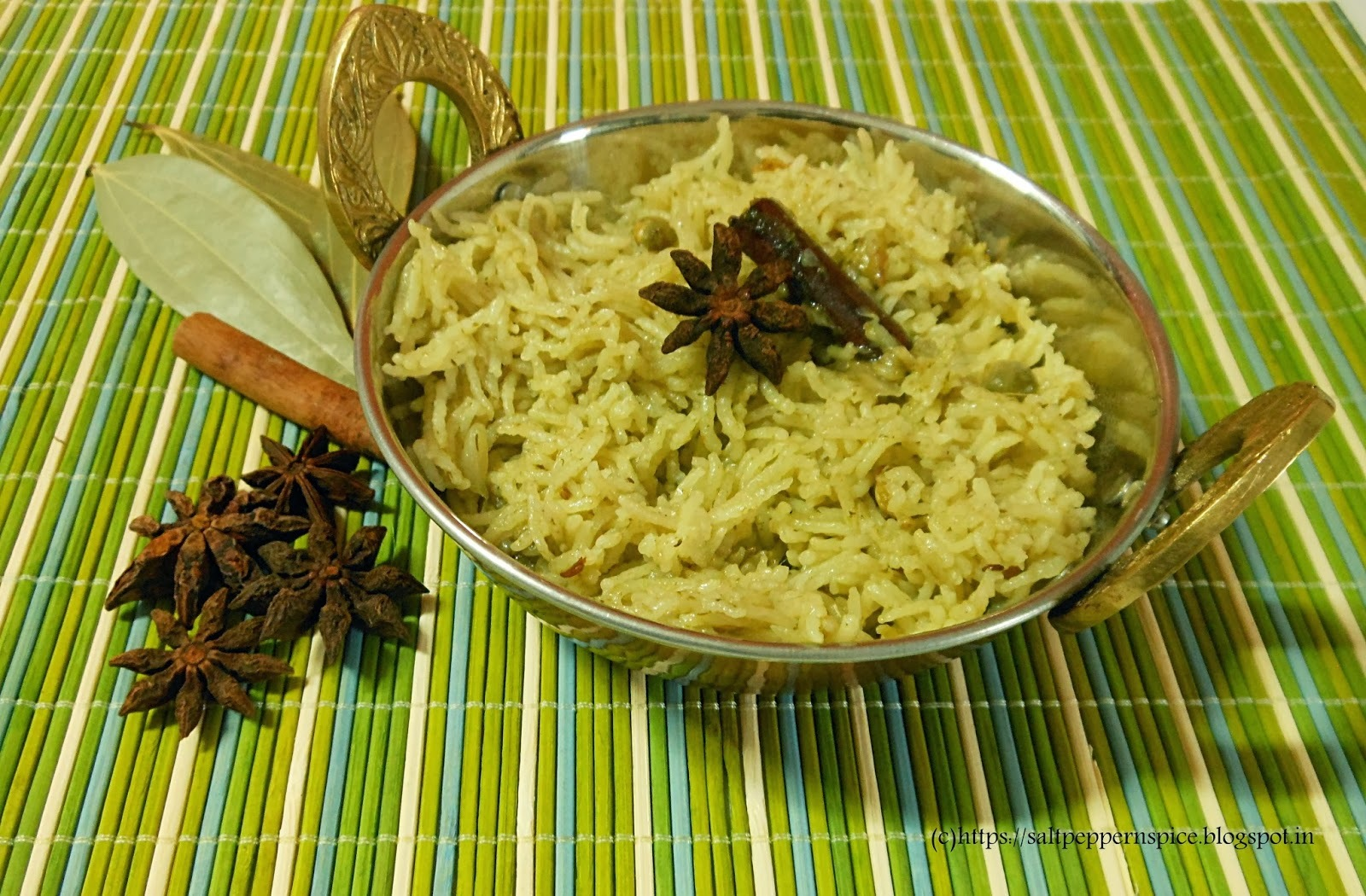 Tuver No Bhaath Recipe (Fresh Pigeon Peas Pulao Recipe)