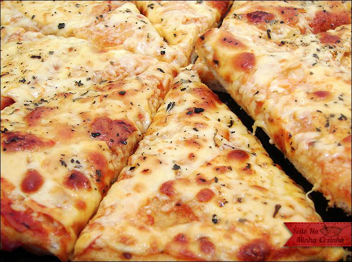 Pizza ao Alho e Óleo