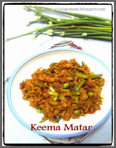 make your own keema rice