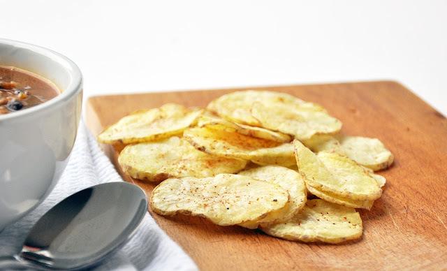 Pure potato crisps...fat free!