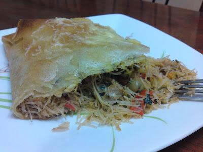 Recette marocaine : Pastilla salé au poulet (1er ramadan)
